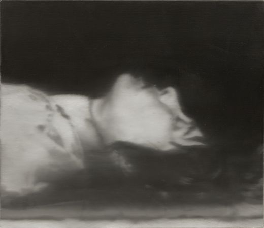 Gerhard Richter 'Dead Tote' 1988 oil on canvas.