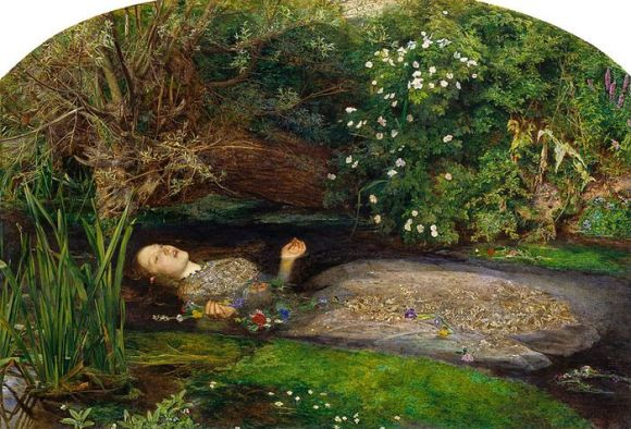 'Ophelia' original painting by Sir John Everett Millais